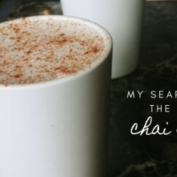 the search for the best chai latte