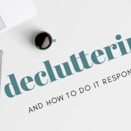 decluttering responsibly