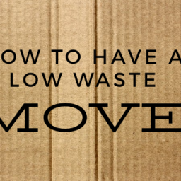 how to have a low waste move