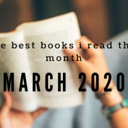 the best books i read this month – march 2020