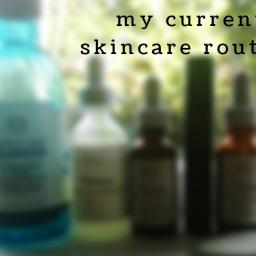 my isolation skincare routine