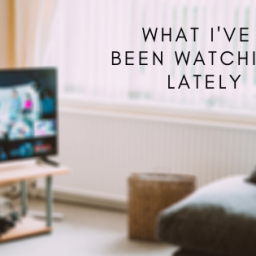 what i have been watching lately