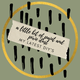 a little bit of paint and pixie dust – my latest DIY's