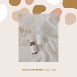 another collection of empties – summer 2020