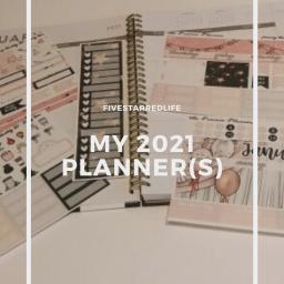 my 2021 planner(s)
