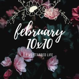 a february 10×10