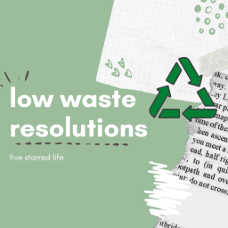 low waste resolutions